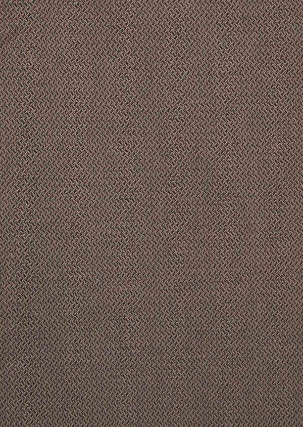 Pantalon coordonnable Slim en coton stretch uni marron - Father and Sons 39857