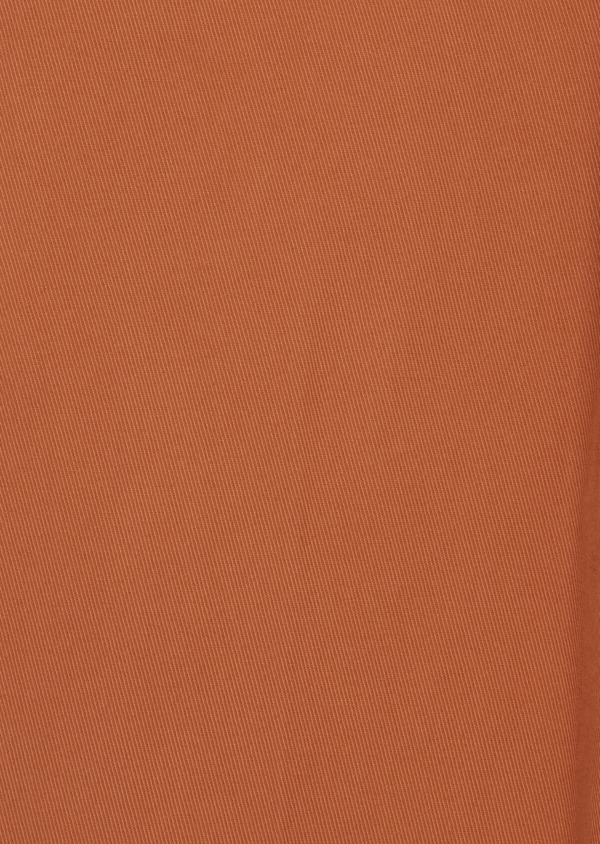 Chino slack skinny en coton stretch uni caramel - Father and Sons 39218
