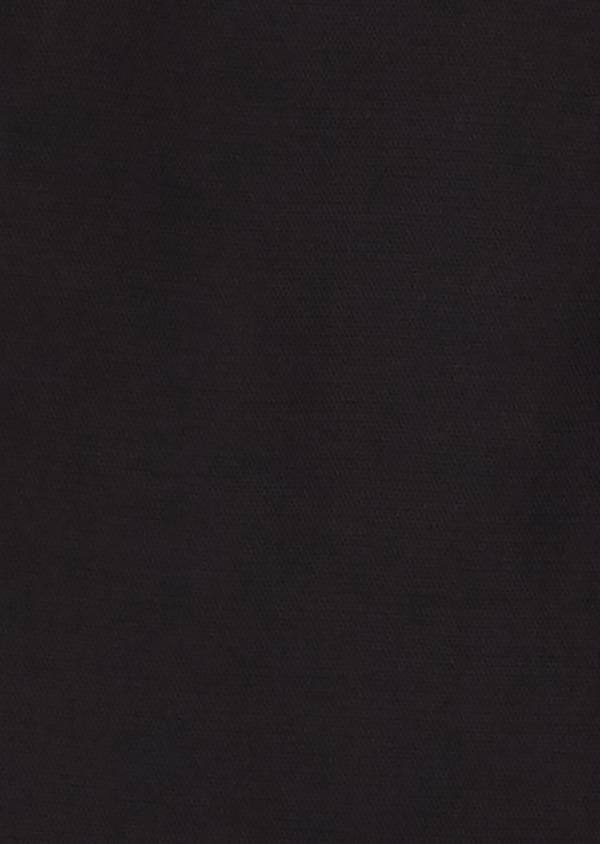 Chino slack skinny en coton façonné uni noir - Father and Sons 27990