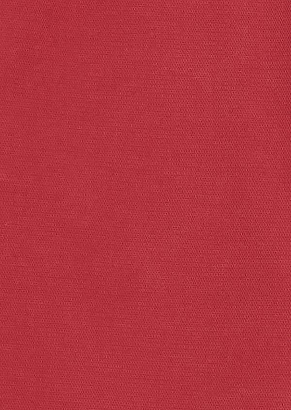 Chino slack skinny en coton façonné uni rose - Father and Sons 28002