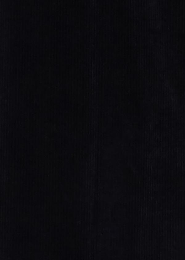 Pantalon coordonnable Slim en velours uni bleu marine - Father and Sons 31106