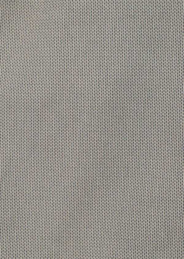 Pantalon casual skinny en coton stretch à motif fantaisie beige - Father and Sons 33336