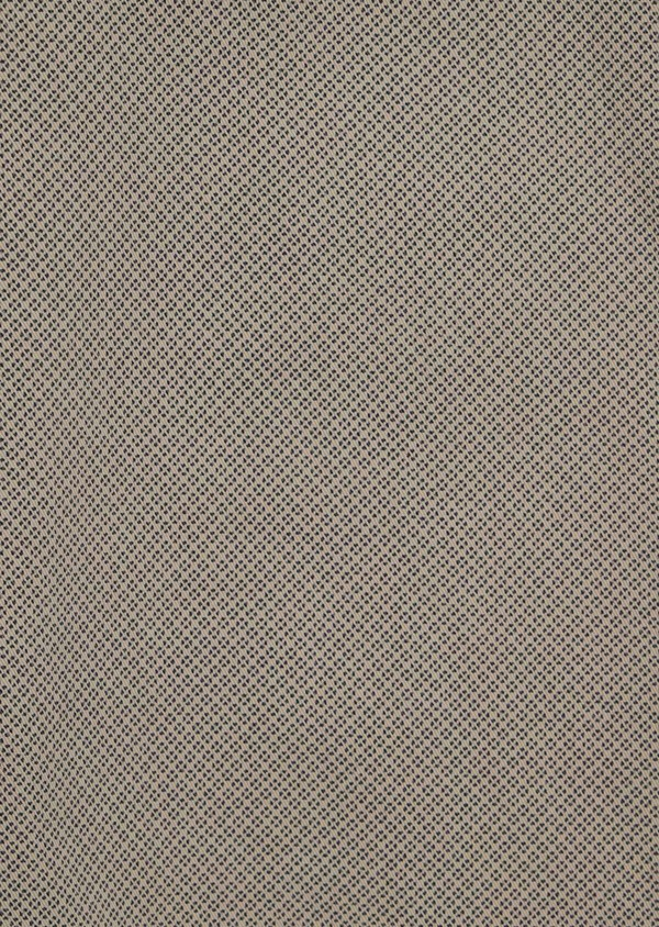 Chino slack skinny en coton à motif fantaisie beige - Father and Sons 34507