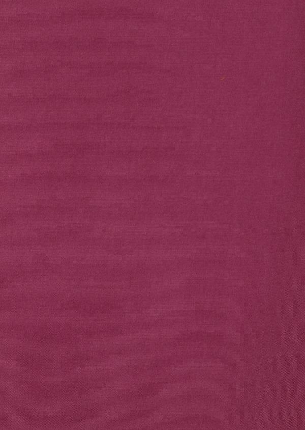 Pantalon casual skinny en coton stretch uni rose foncé - Father and Sons 33919