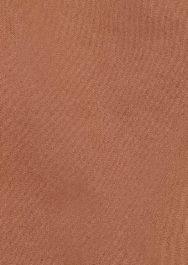 Chino slack skinny en coton stretch uni cognac - Father and Sons 34555
