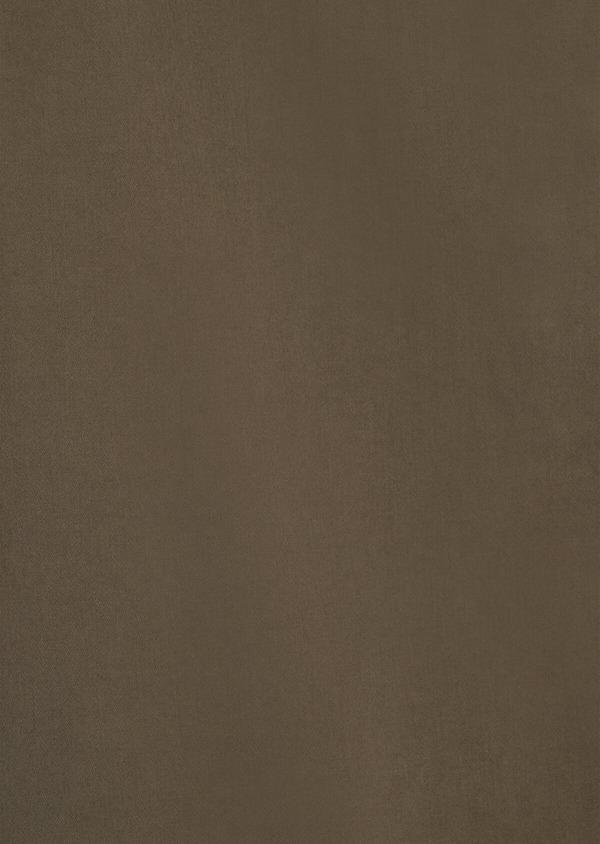 Chino slack skinny en coton uni vert kaki - Father and Sons 34515
