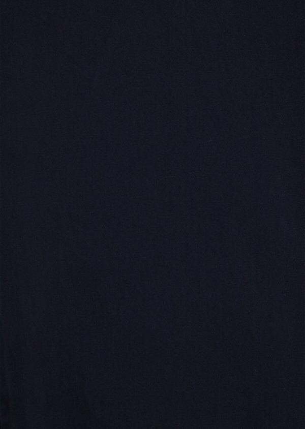 Chino slack skinny en coton uni bleu marine - Father and Sons 34511