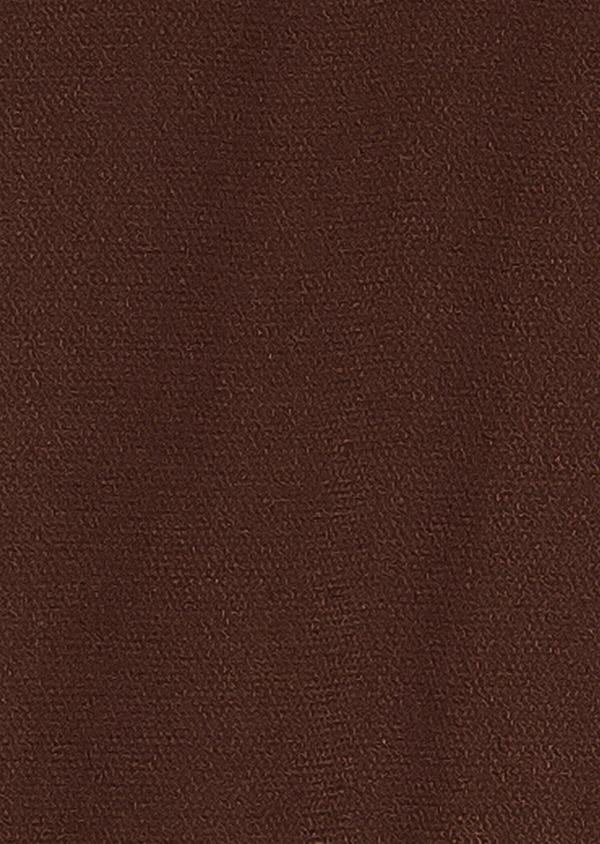 Chino slack skinny en coton stretch uni marron - Father and Sons 33895