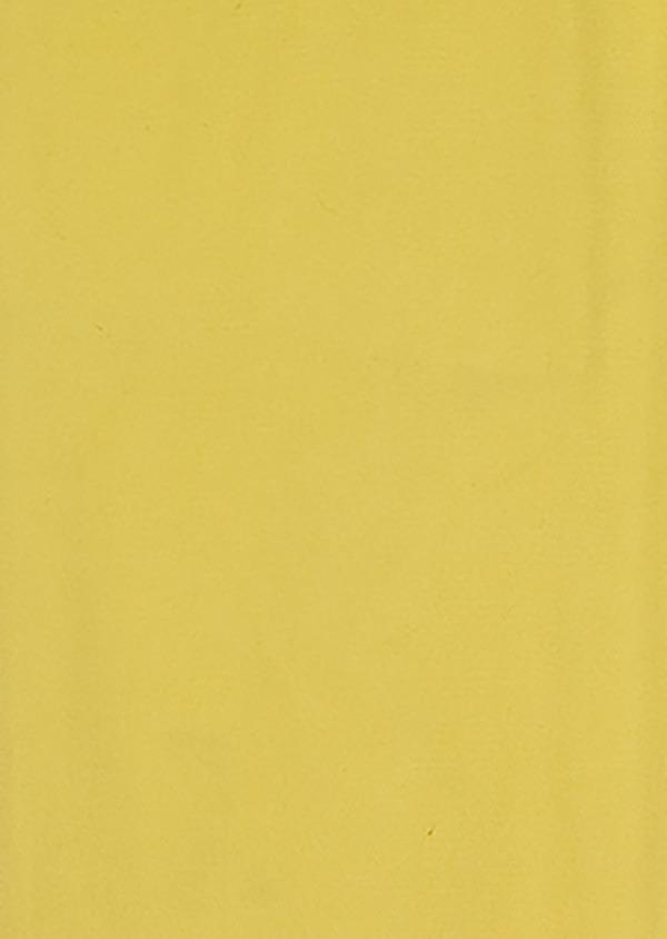Pantalon casual skinny en coton stretch uni jaune - Father and Sons 33304