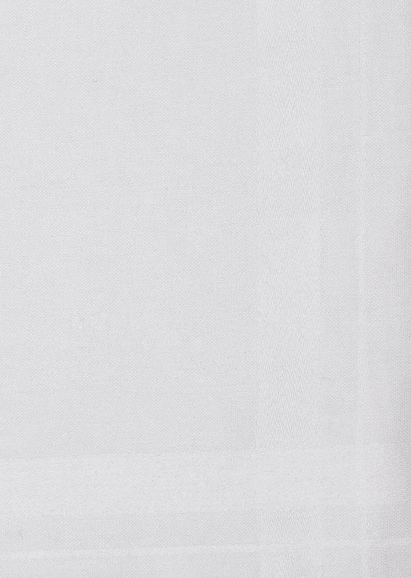 Pochette en coton uni blanc - Father and Sons 37297