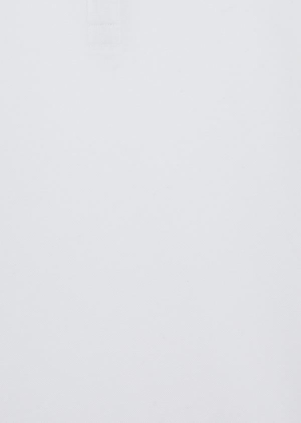 Polo manches courtes Slim en coton uni blanc - Father and Sons 38781