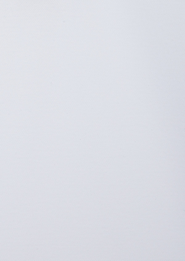 Polo manches courtes Slim en coton uni blanc - Father and Sons 40633