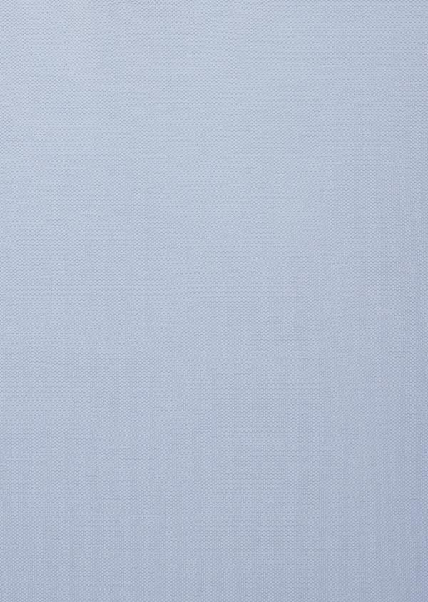 Polo manches courtes Slim en coton uni bleu ciel - Father and Sons 40638