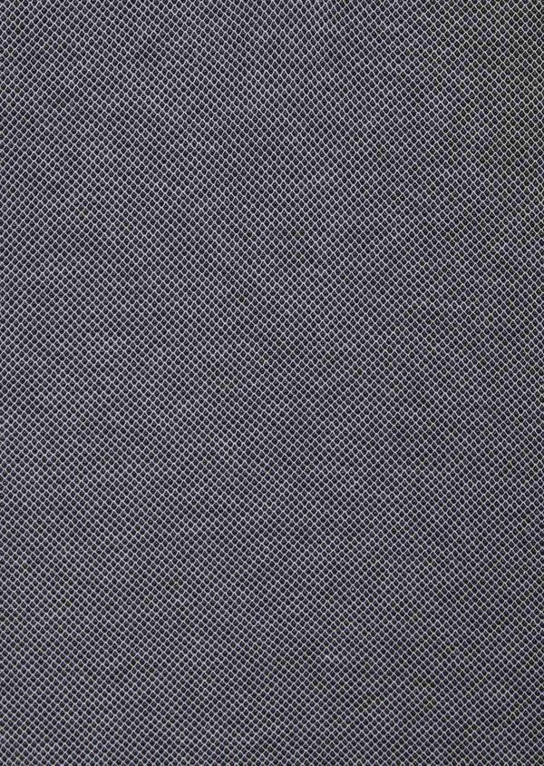 Polo manches courtes Slim en coton uni gris anthracite - Father and Sons 39904