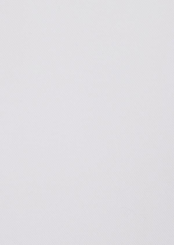 Polo manches courtes Slim en coton uni blanc - Father and Sons 34492