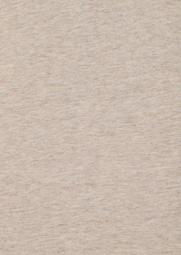 Polo manches courtes Slim en coton uni beige - Father and Sons 33411