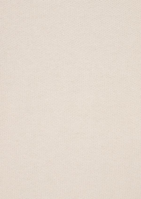 Pull en coton et lin à col rond uni beige foncé - Father and Sons 38805