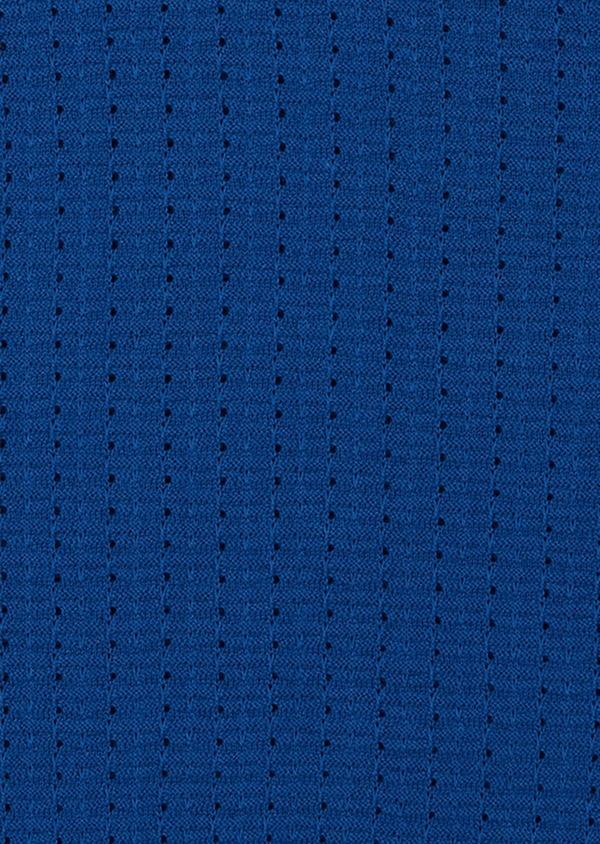 Pull en coton à col rond uni bleu - Father and Sons 38825
