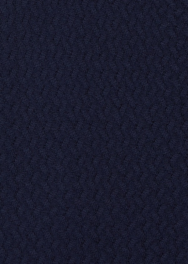 Cardigan en coton uni marine - Father and Sons 38863