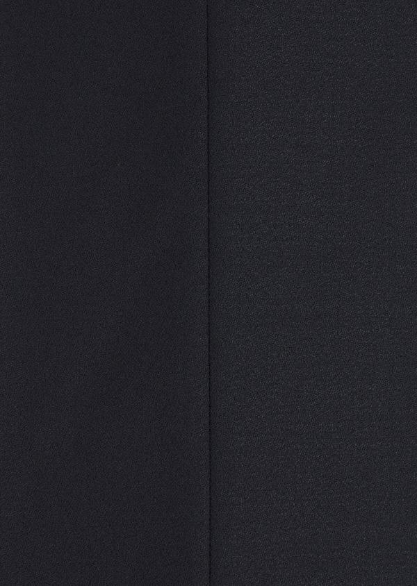 Smoking Slim en laine unie bleu marine - Father and Sons 35483