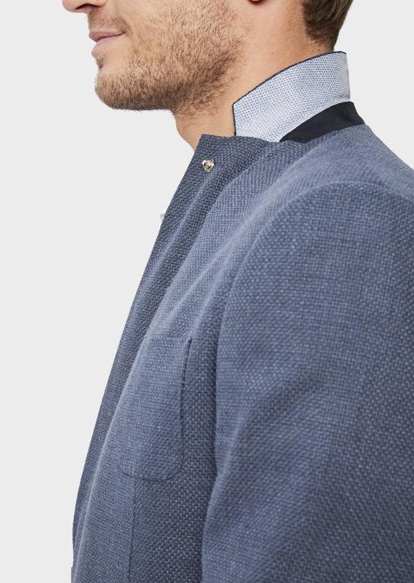 Veste casual Regular en coton bleu - Father and Sons 38952