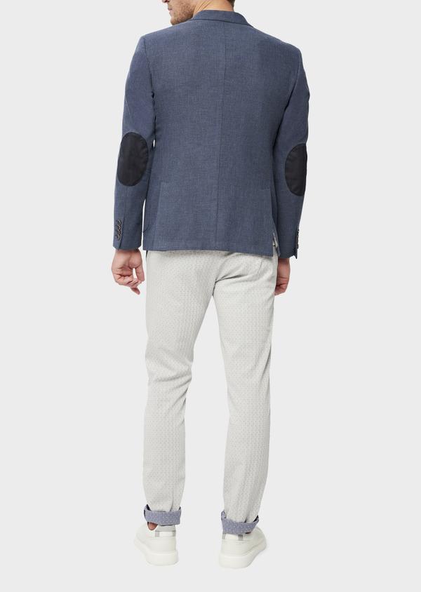 Veste casual Regular en coton bleu - Father and Sons 38951