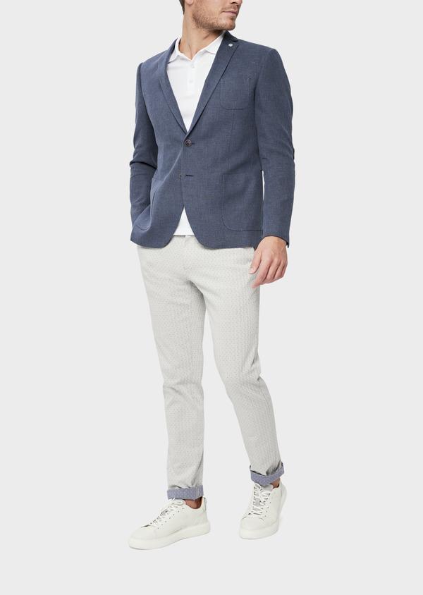 Veste casual Regular en coton bleu - Father and Sons 38950