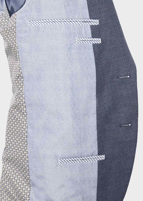 Veste casual Regular en coton bleu - Father and Sons 38954