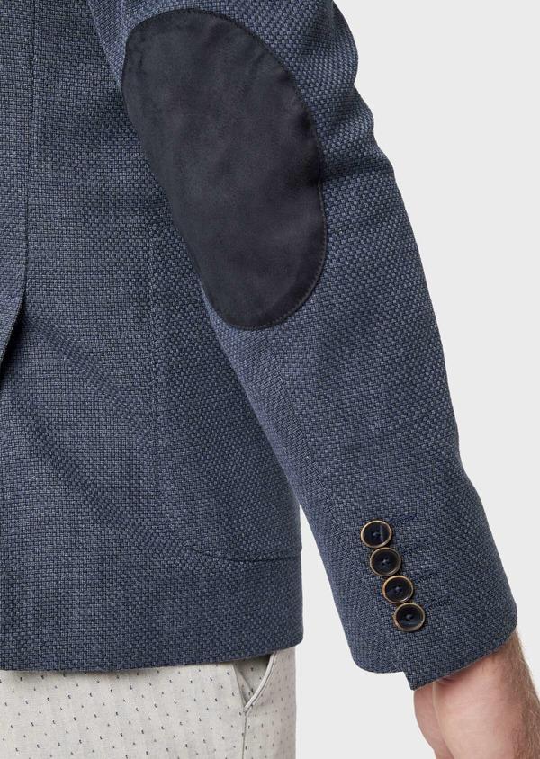 Veste casual Regular en coton bleu - Father and Sons 38953