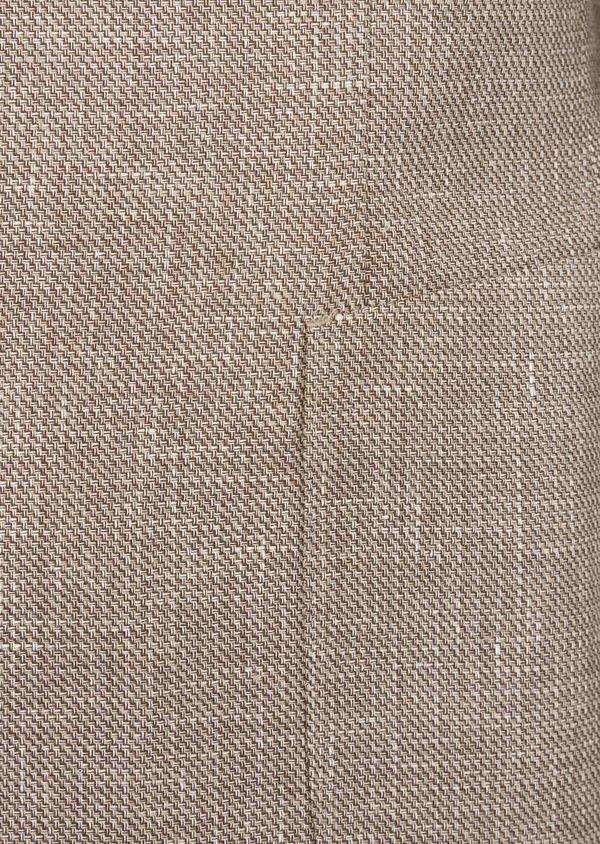 Veste casual Regular en lin et coton marron - Father and Sons 38921
