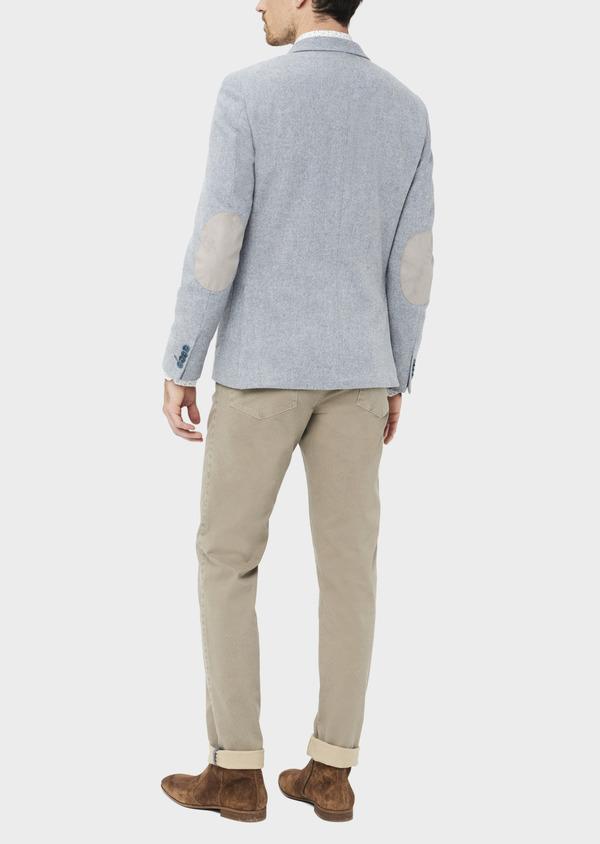 Veste casual Regular en laine mélangée grise - Father and Sons 36834