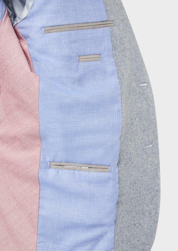 Veste casual Regular en laine mélangée grise - Father and Sons 36837