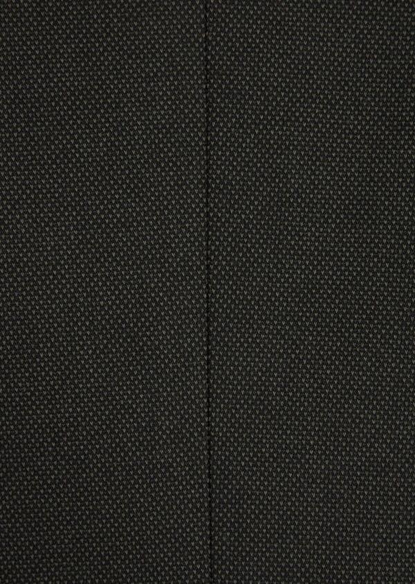 Veste coordonnable Slim en coton mélangé vert kaki à pois - Father and Sons 36221