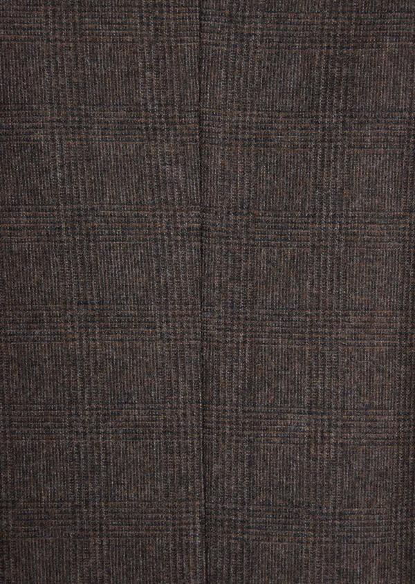 Veste coordonnable Slim en laine mélangée chocolat - Father and Sons 36846