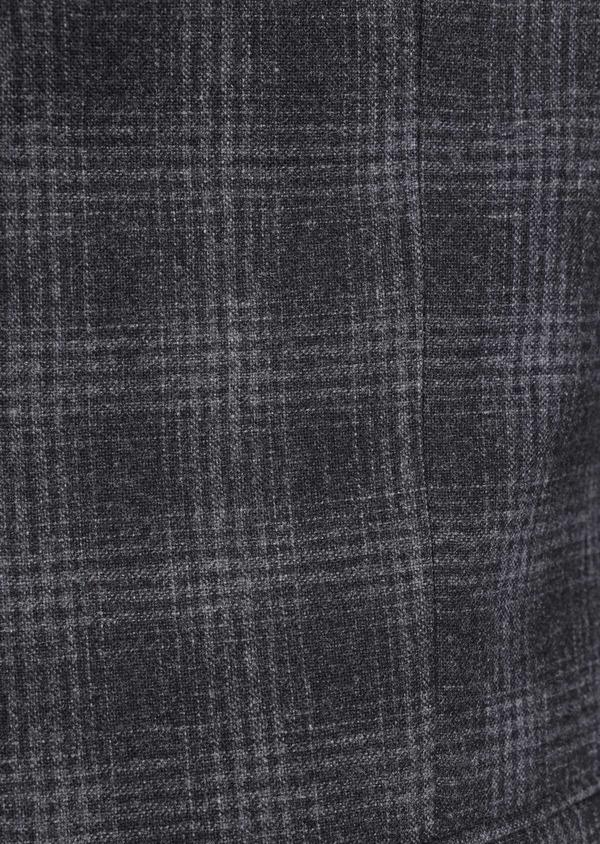 Veste coordonnable Slim en laine mélangée grise Prince de Galles - Father and Sons 35552
