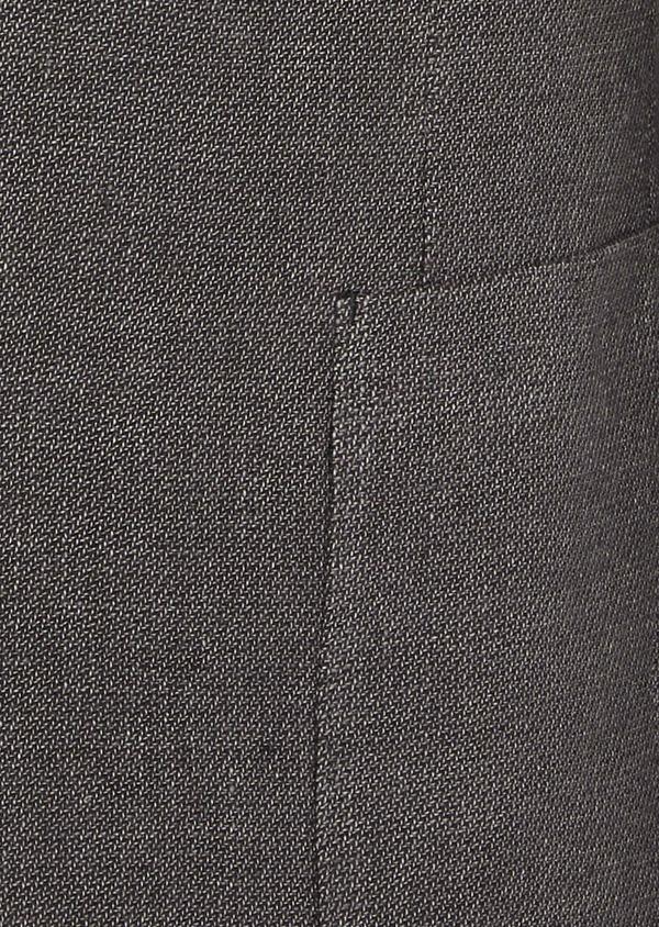 Veste casual Slim en lin et coton uni gris anthracite - Father and Sons 38928