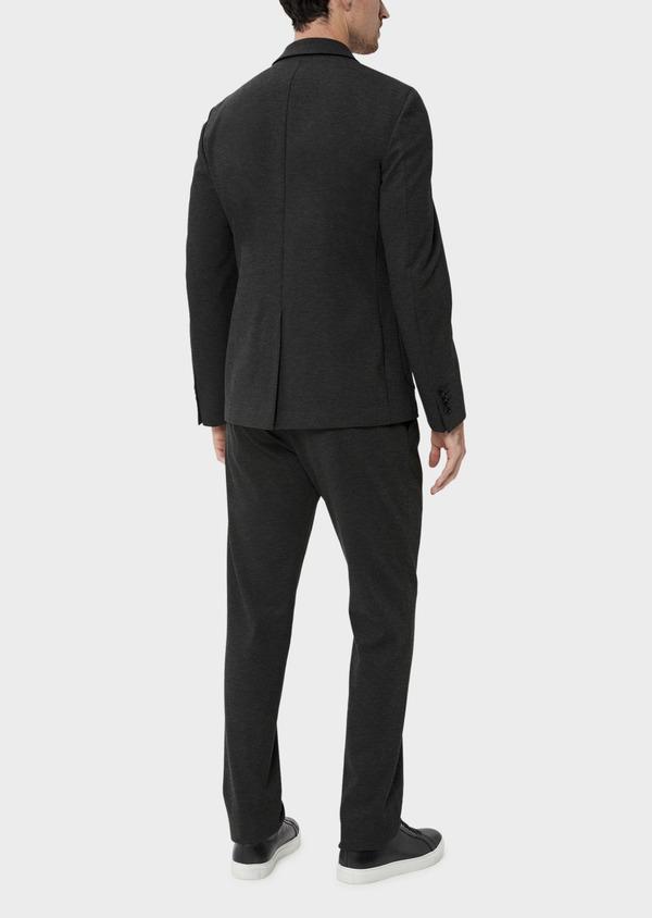 Veste coordonnable Slim en jersey uni gris - Father and Sons 35547