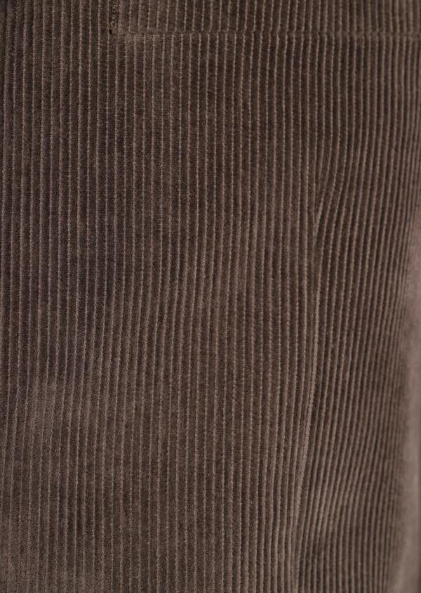 Veste coordonnable Slim en velours côtelé marron - Father and Sons 35538