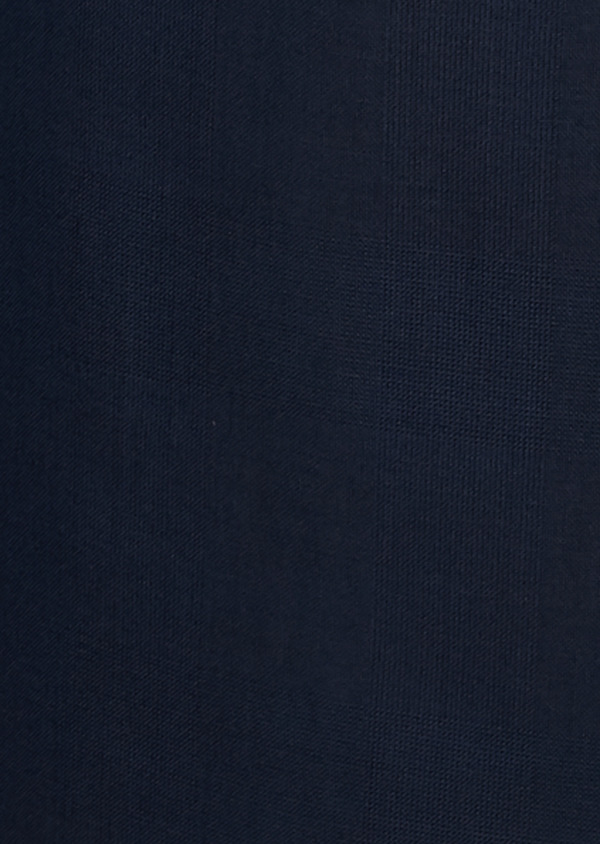 Veste de costume Regular en laine Vitale Barberis Canonico bleu marine Prince de Galles - Father and Sons 19990