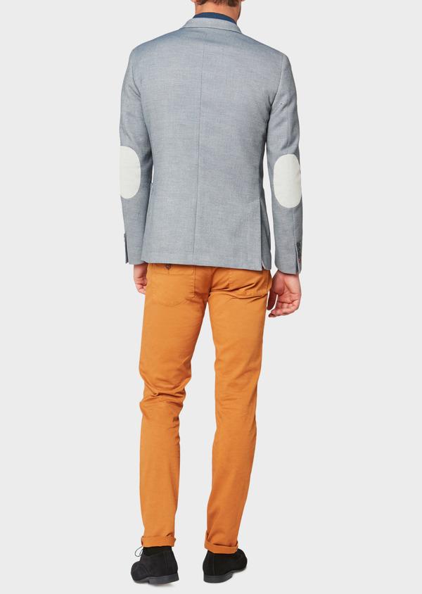 Veste casual Regular en coton mélangé bleu - Father and Sons 33582