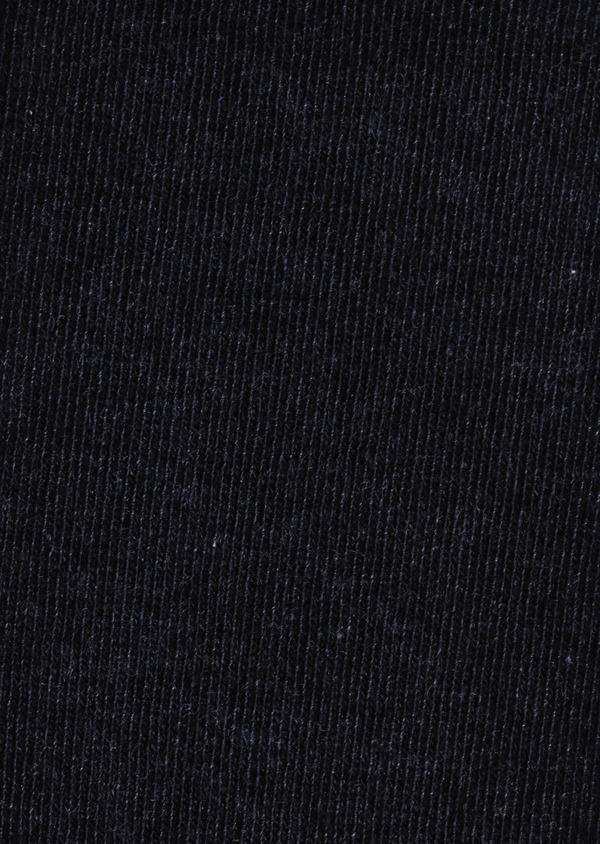 Chaussettes en coton mélangé uni gris anthracite chiné - Father and Sons 9060