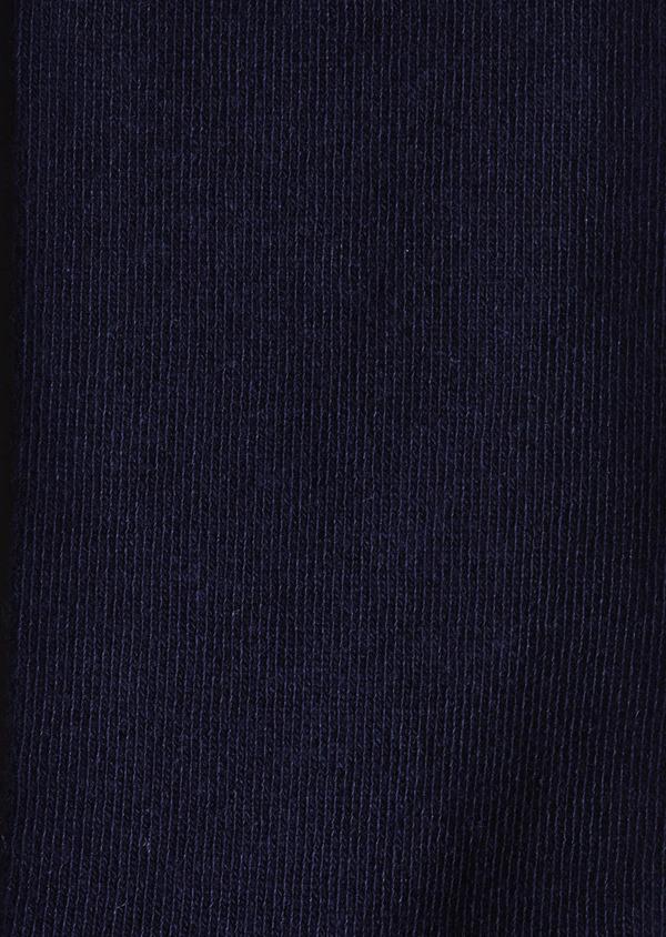 Chaussettes en coton mélangé uni marine - Father and Sons 9048