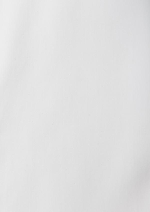 Chemise habillée Regular en satin uni blanc col cassé - Father and Sons 8604