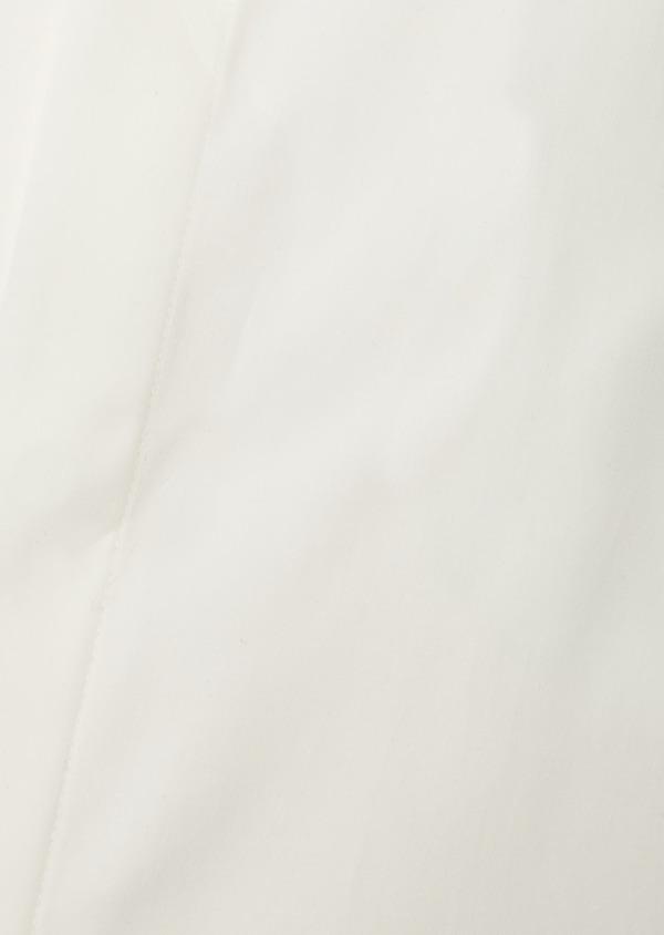 Chemise habillée Regular en satin uni écru col cassé - Father and Sons 8611