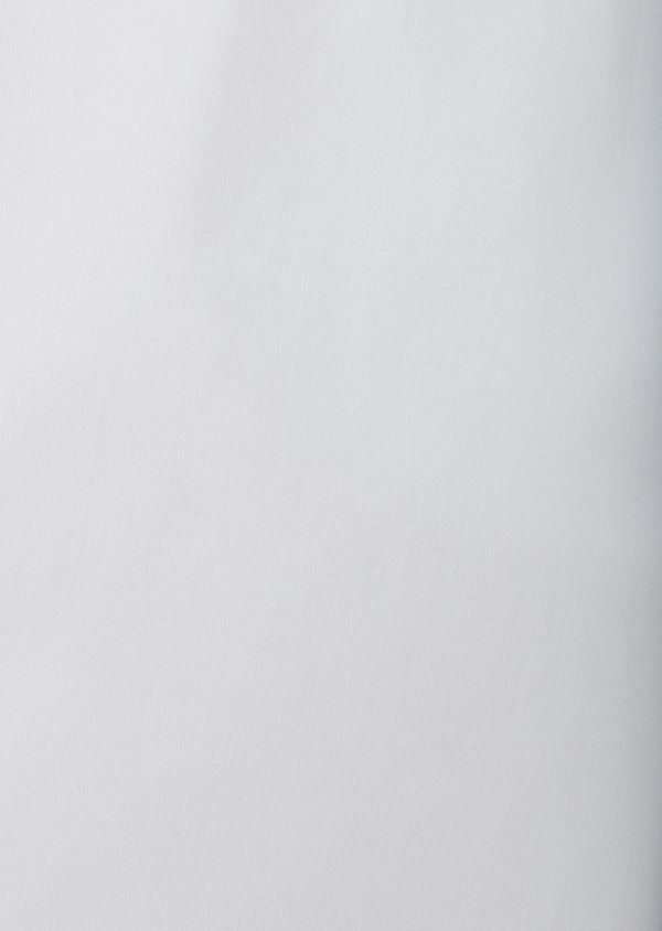 Chemise habillée Slim en satin uni blanc - Father and Sons 8590