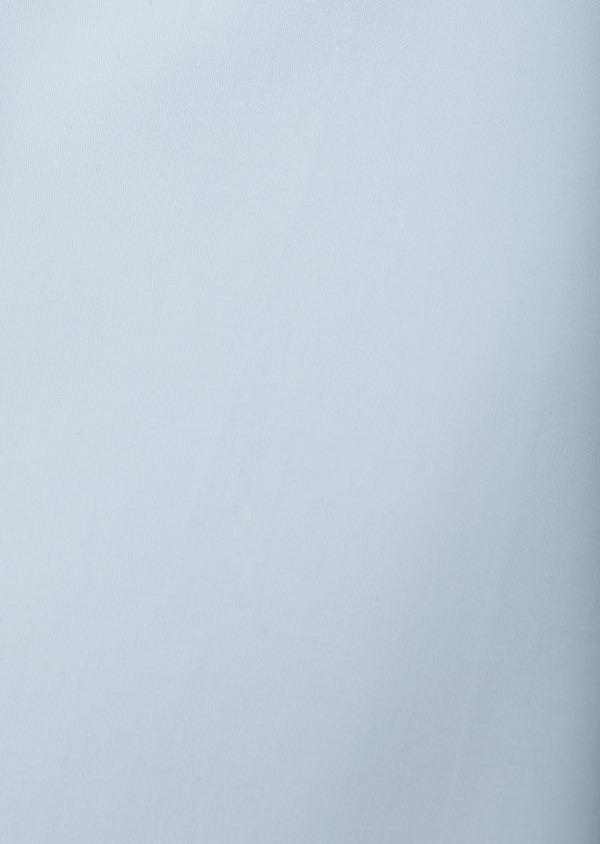 Chemise habillée Slim en satin uni bleue claire - Father and Sons 8618