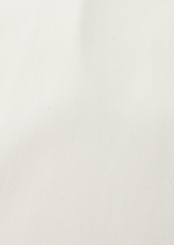 Chemise habillée Slim en coton sergé écru à col italien - Father and Sons 8646