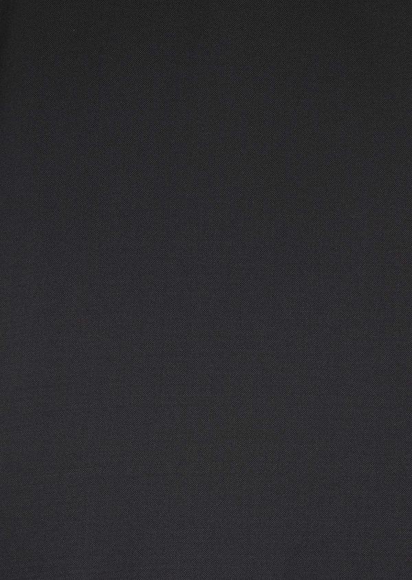 Costume 2 pièces Regular en laine Vitale Barberis Canonico unie noire - Father and Sons 8662