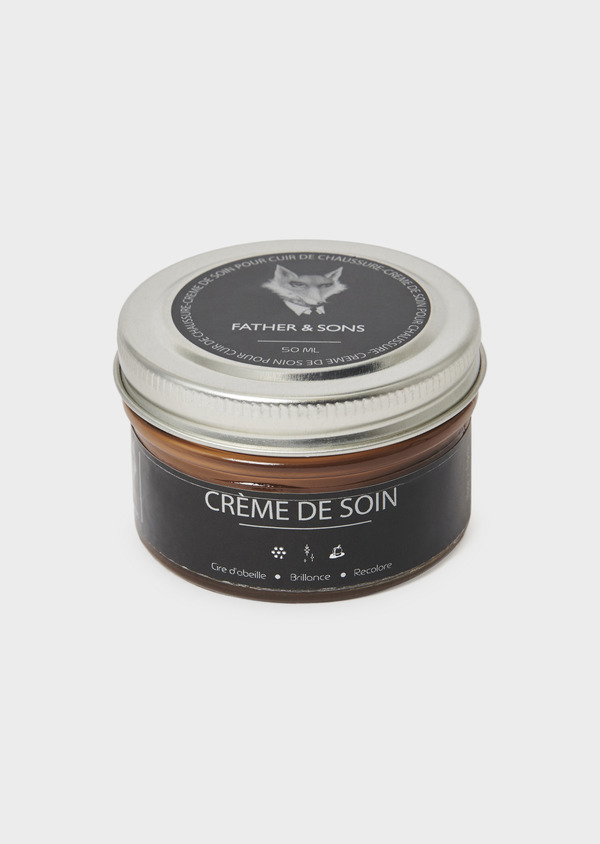 Crème de cirage camel pour cuir - Father and Sons 8709