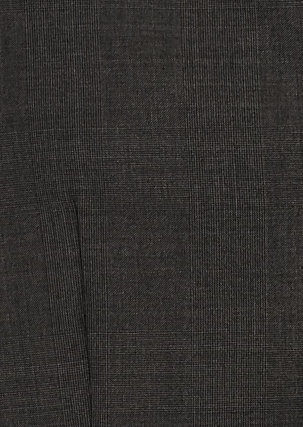 Gilet de costume en laine Vitale Barberis Canonico gris Prince de Galles - Father and Sons 8748